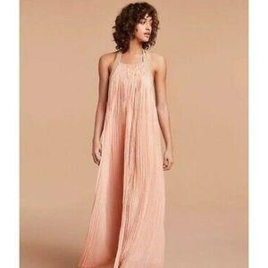Aritzia Couvin Le Fou Halter Dress